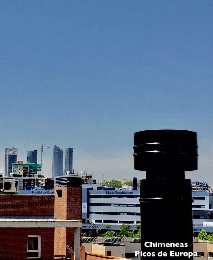 Tubos salida de humos en negro tubos de nuestra pipesshop. Chimeneas Picos de Europa, venta e instalación. Madrid.