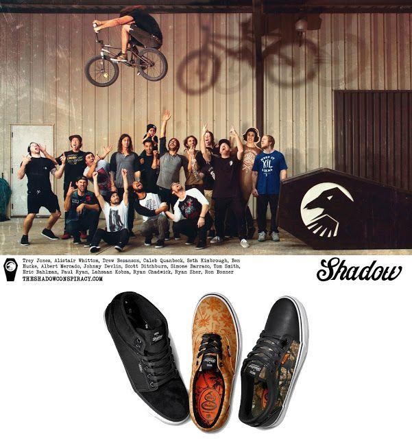 Shadow Conspiracy X Vans – Penumbra Series, sepatu Vans collabs terbaru dengan BMX Pro team