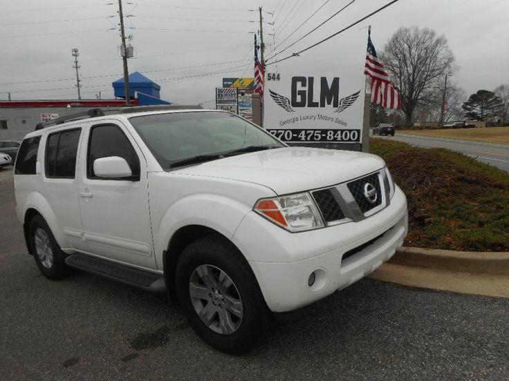 2007 Nissan Pathfinder $9995 http://www.GEORGIALUXURYMOTOR.COM/inventory/view/9813688
