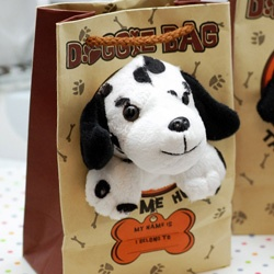 Doggie Bag treat or goody bag for puppy themed party