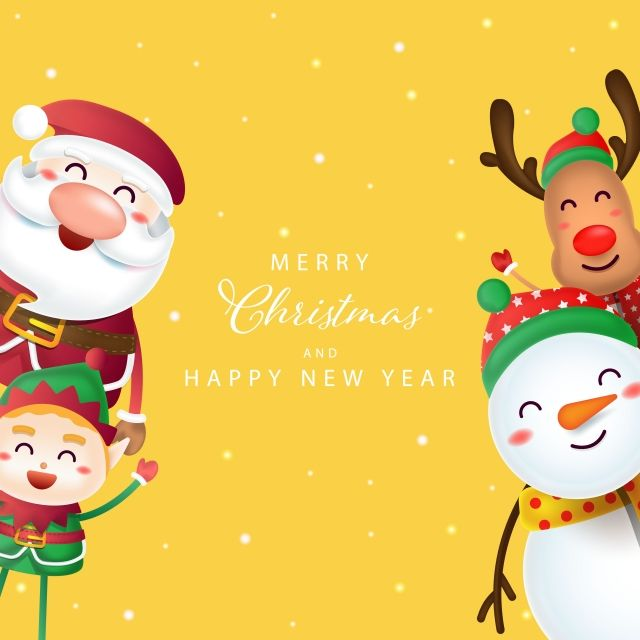 Santa Claus Reindeer And Elf With Merry Christmas Signboard Santa Clipart Ornament Wallpaper Png And Vector With Transparent Background For Free Download Santa Claus Reindeer Reindeer Christmas Gift Christmas Text