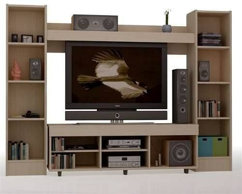 Mueble para tv leds de 42 blu ray y equipos de sonido - Muebles para equipo de sonido ...