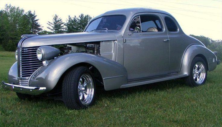 38 pontiac coupe done by F & W STREETRODS...SHERMANS DALE PA
