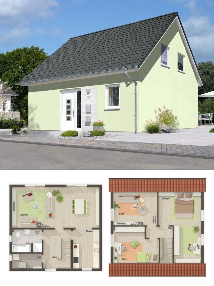 Einfamilienhaus architektur klassisch mit satteldach 4 for Einfamilienhaus klassisch