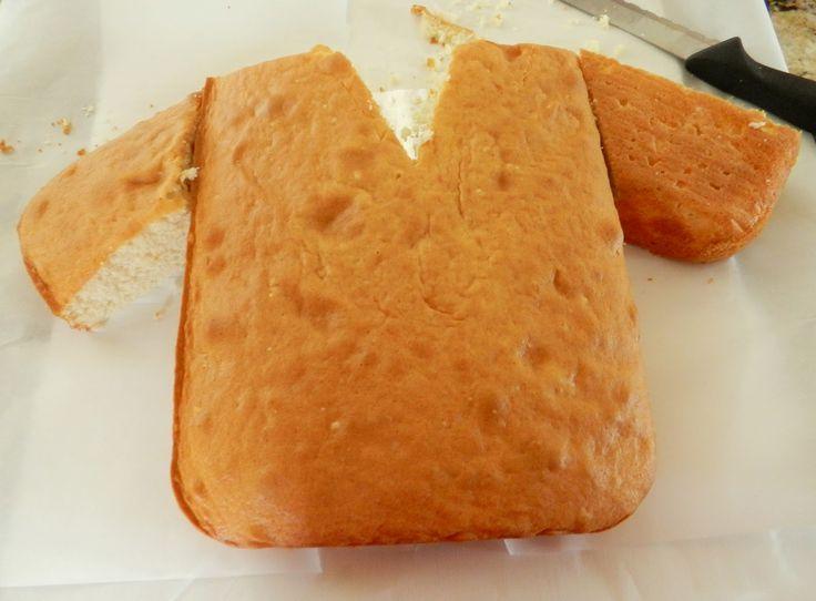 The Baking Bookworm: Karate Gi Cake                                                                                                                                                                                 Más
