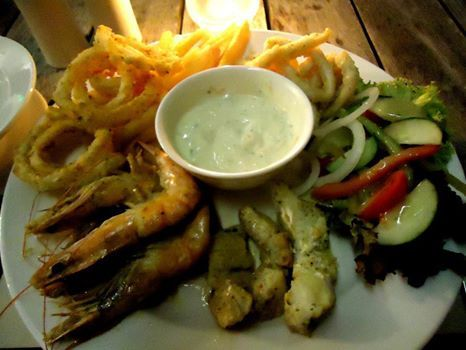 Almost time to sit back and relax with a glass of wine and indulge in our awesome Seafood Special!