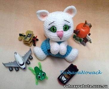 Схемы амигуруми: каталог бесплатных схем вязаных игрушек крючком и спицами.