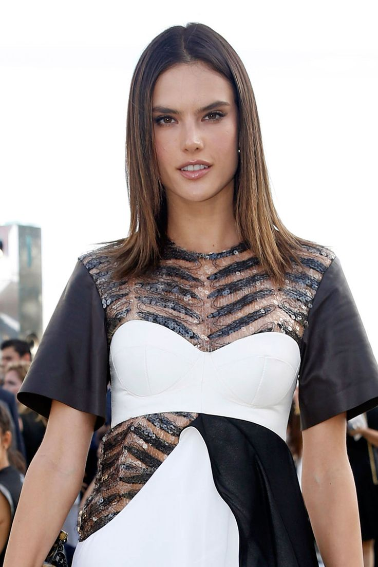 Straight perm edinburgh - Alessandra Ambrosio Looked Effortlessly Chic At The Louis Vuitton Cruise Show In Her Home Country Over