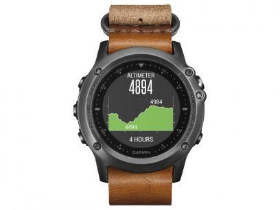 Relógio Monitor Cardíaco Garmin Fenix Saphira HR - Resistente à Água 010-01338-81 com as melhores condições você encontra no Magazine Rgenestore. Confira!