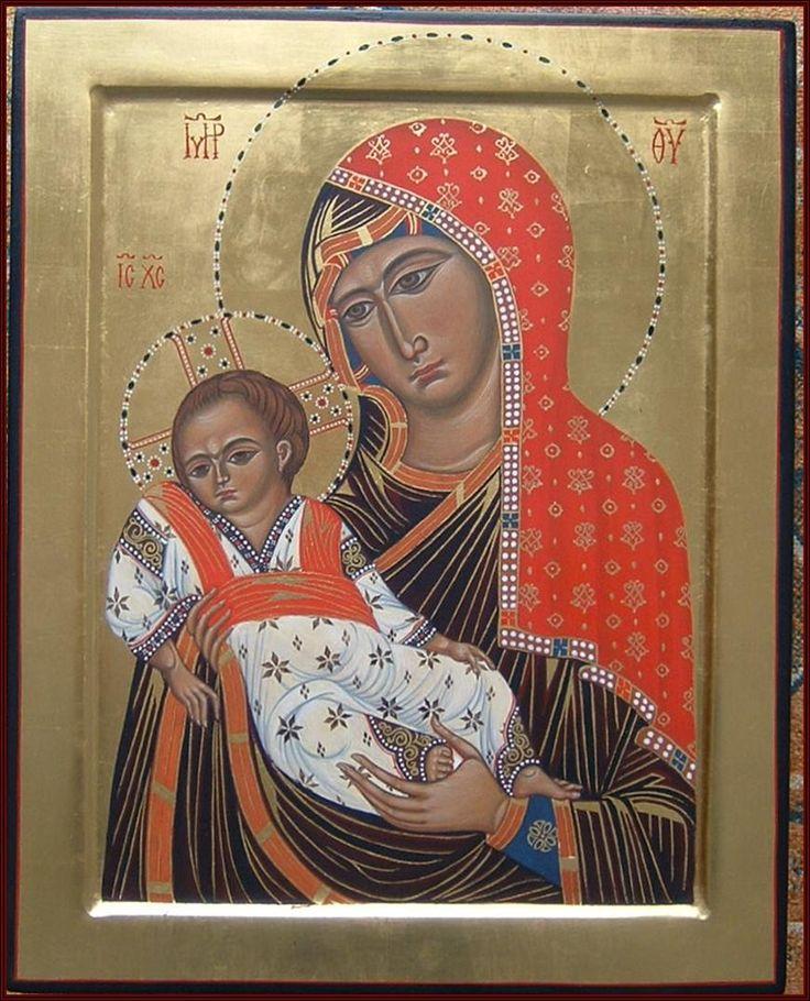 Madre di Dio del Sinai through the hand of Maria Teresa Battilana