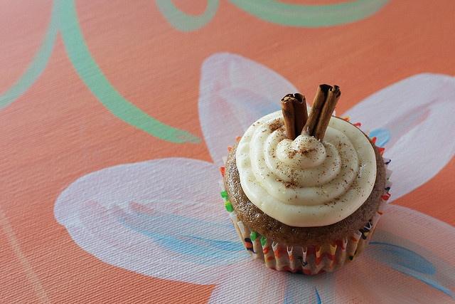 chai latte cupcakes | Food | Pinterest