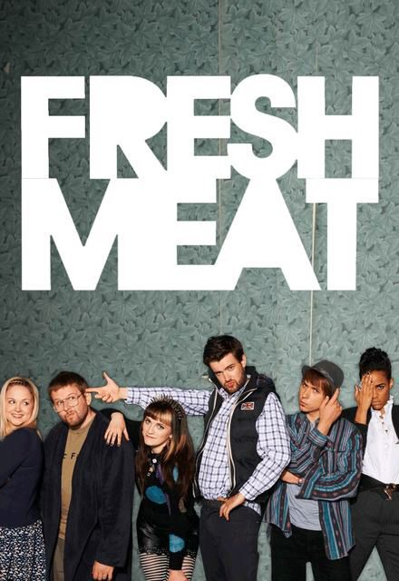 Fresh Meat - Modern day Young Ones ❤❤ And girl crushing bad on Vod