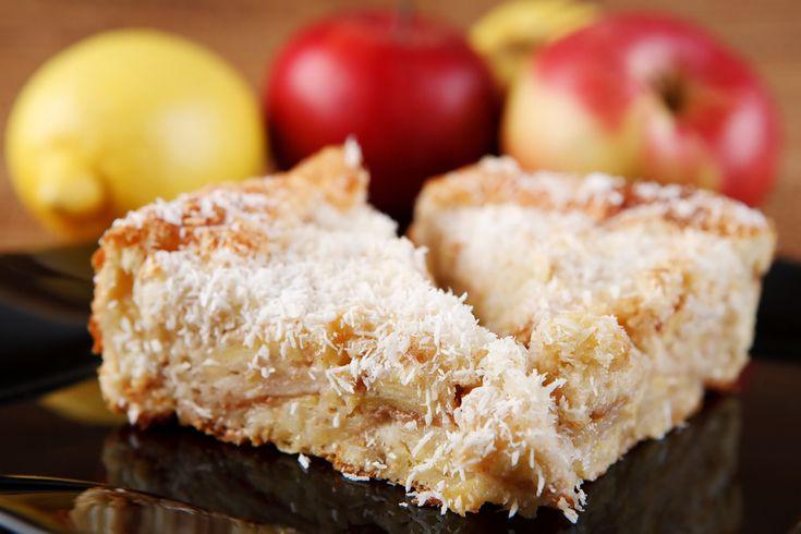 Tarte aux pommes et à la noix de coco