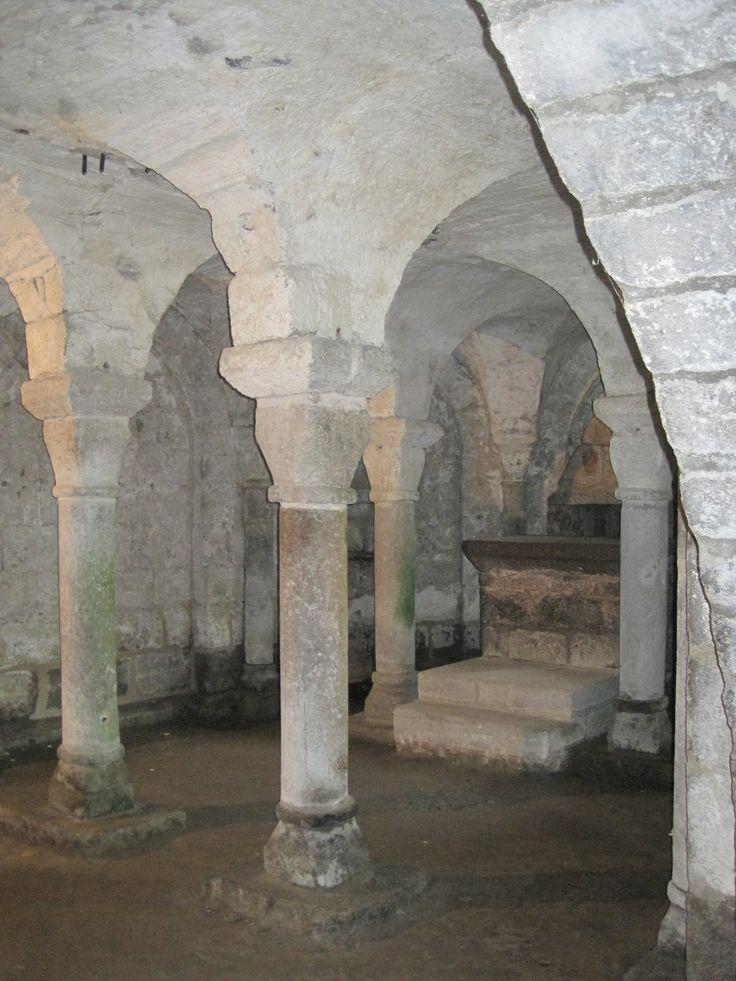 Crypte de l'église d'Ahun