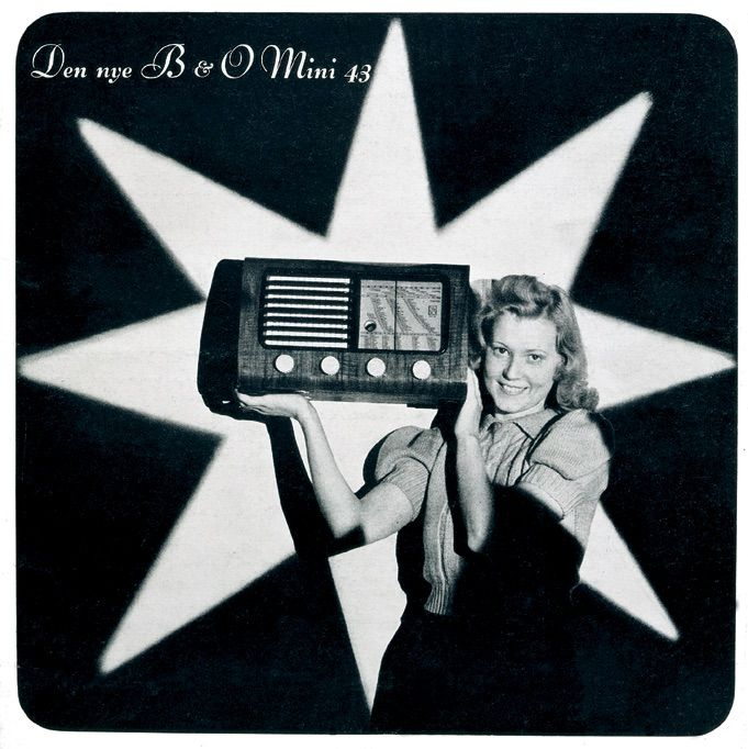 The new B&O Mini 43 Radio! Here an ad from 1943.