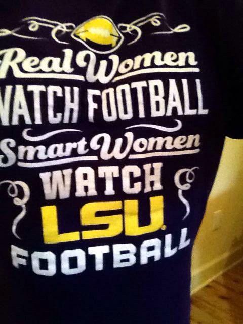LSU - I so need this shirt