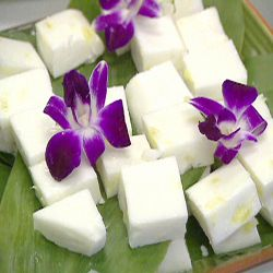 3. Haupia With Pineapple | 10 Authentic Hawaiian Recipes To Rock Your Next Luau