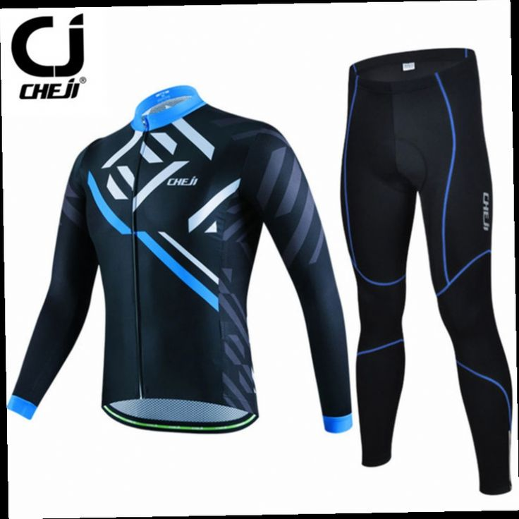 49.98$  Watch here - http://alii70.worldwells.pw/go.php?t=32751698243 - Cheji Men's Long Sleeve Cycling Jersey Set/Mountain Bicycle Cycling Clothing/Ropa invierno Ciclismo Sport Bike Jersey Clothes 49.98$