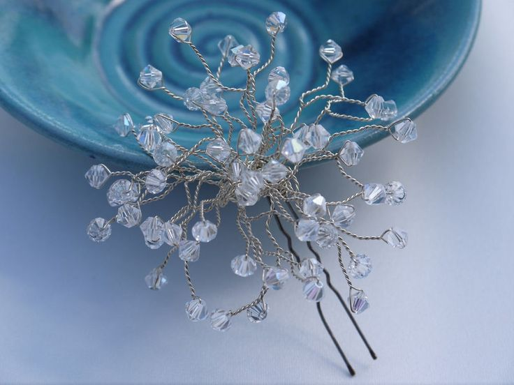 Bridal Hair Pins Wedding Jewelry Rhinestone Comb Clip Headband Bridesmaid Gift