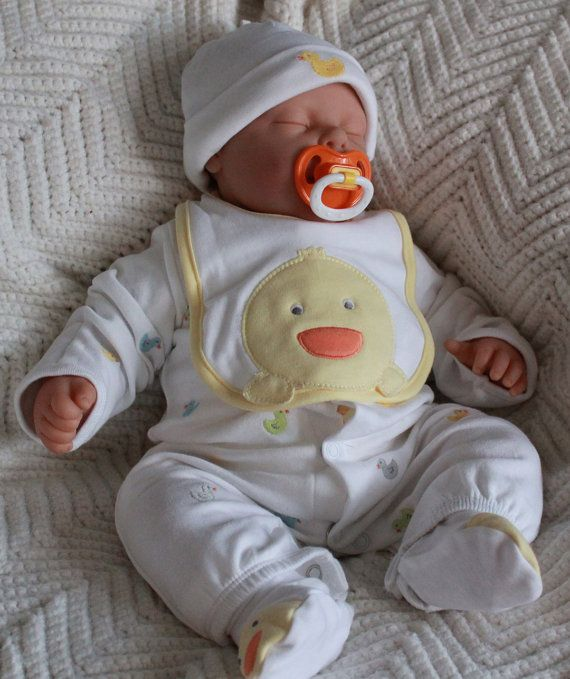 REBORN BABY DOLL 20 inch Baby Reborn Life size by SpoiledMunchkins.looks so real...