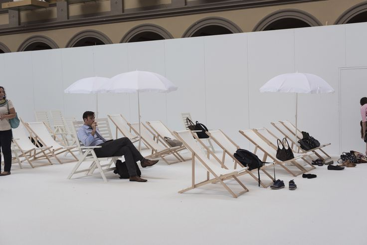 "The Building Museum's ""Beach"" Is as Fun and Ridiculous as It Sounds By Benjamin Freed 