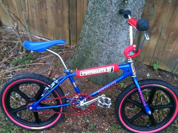 1979 Powerlite Bmxmuseum Com Old School Bikes Pinterest