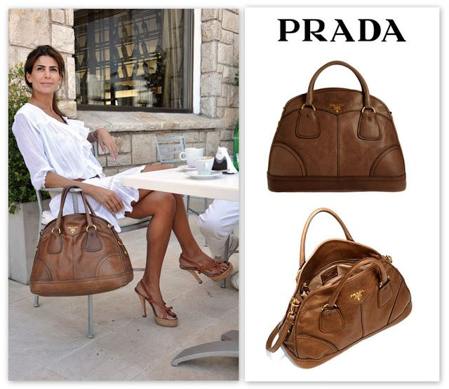 Juliana Awada Prada Handbag