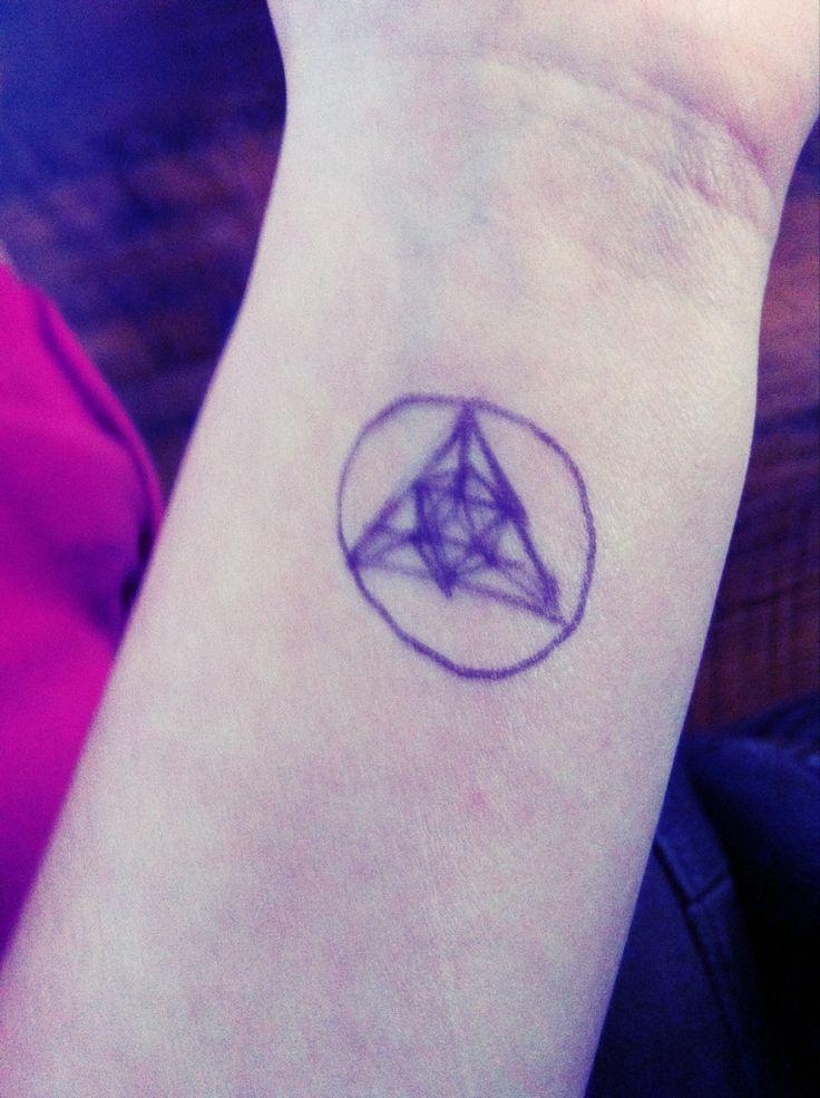Harmony symbol tattoo