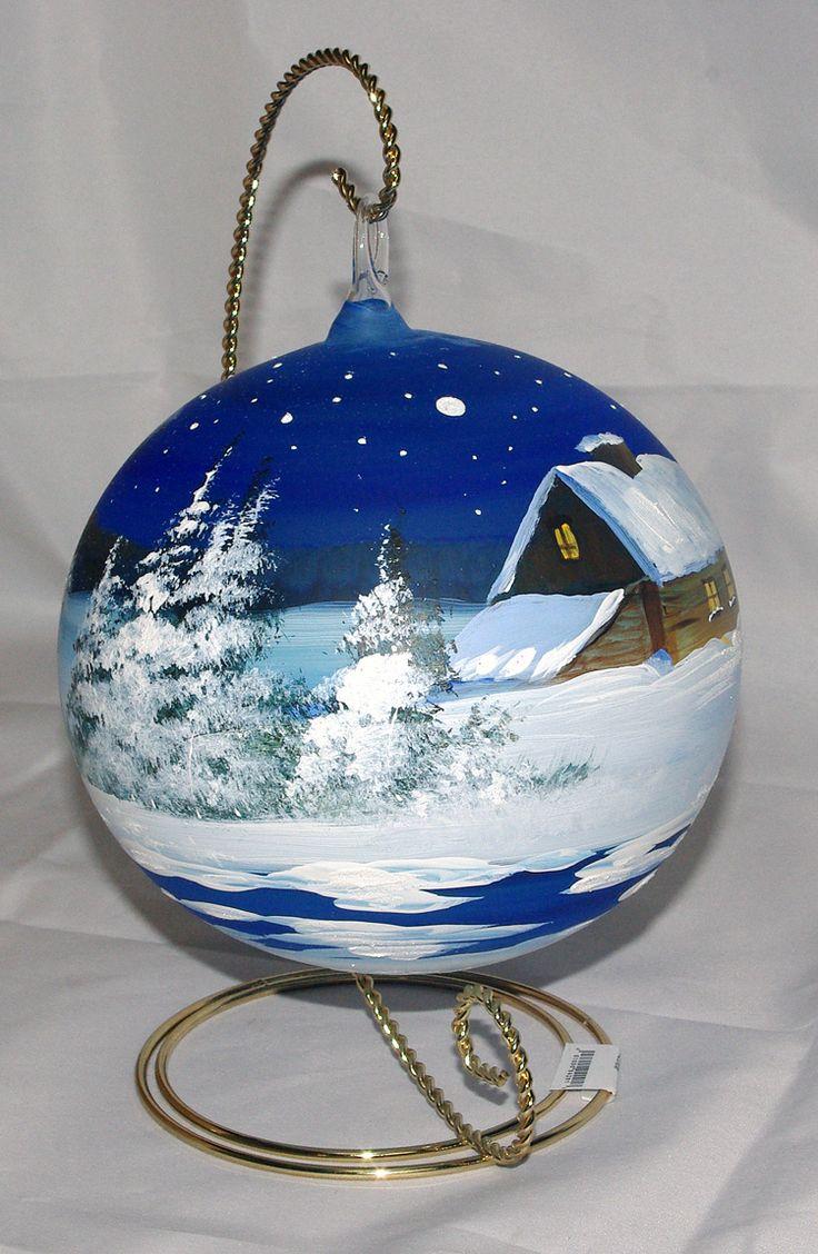 De bästa idéerna om painted ornaments på pinterest