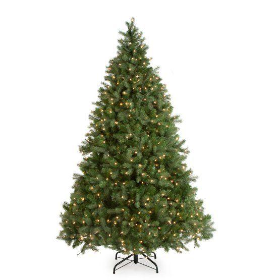 Downswept Douglas Fir Medium Pre-lit Christmas Tree