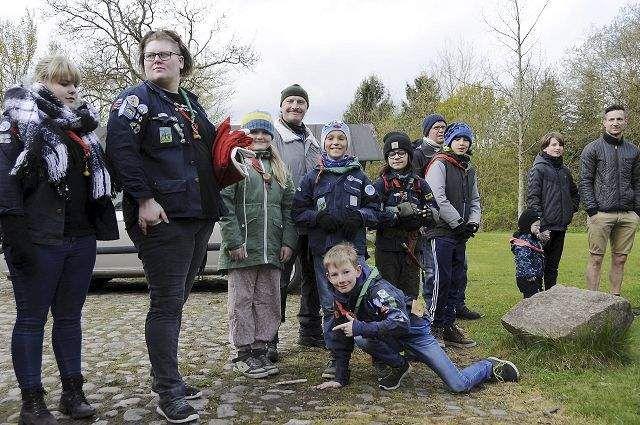 Skovgruppen fejrede Sankt Georgs dag