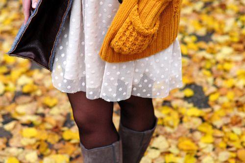 Oh, el estilo de otoño es tan agradable! Tan bonito y agradable!