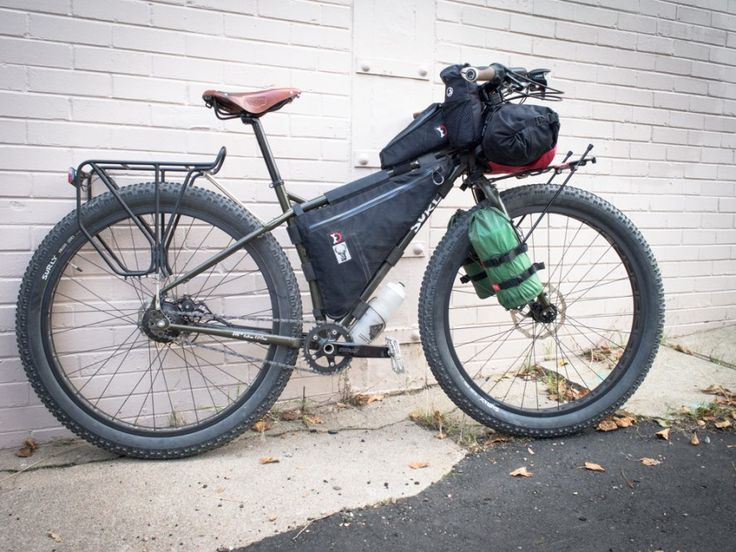 how to set up bike for mtb touring
