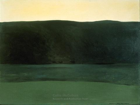 Colin McCahon, North Otago Landscape 8, 1967