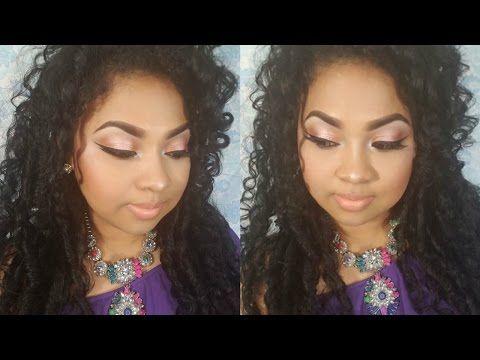Maquillaje para Morenas/piel canela/trigueñas 2016 - YouTube