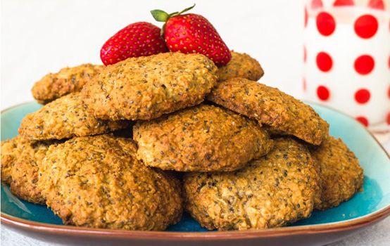 dadel-banaan koekjes zonder suiker!