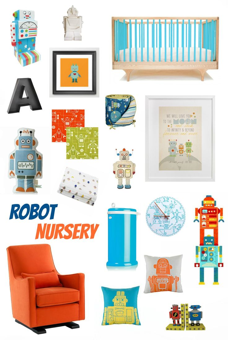 Everything robot for the new baby in your life