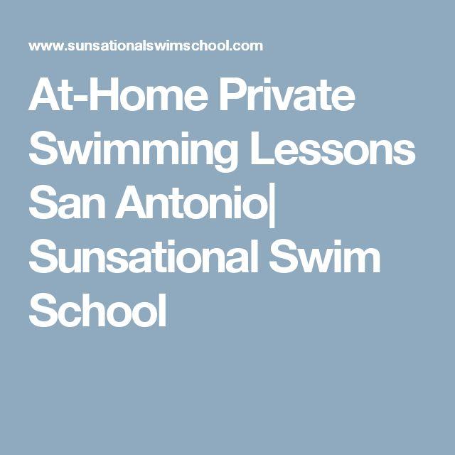 At-Home Private Swimming Lessons San Antonio| Sunsational Swim School