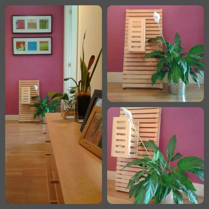 2.- DIY - Lamp: wooden tabletop from Ikea (bathroom) and clamping hooks
