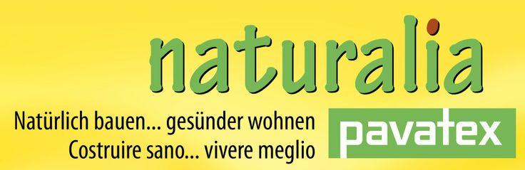 Il nostro nuovo logo - con sfondo giallo!    Naturalia-BAU consolida la sua partnership di qualità con pavatex!  Il nuovo logo per rafforzare la presenza sul mercato di due importanti marchi di qualità ed assoluta affidabilità.   www.naturalia-bau.it/it/soluzioni-bioedili.html