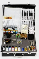Professional Tattoo Kit TK-003 2 Guns Tattoo Kit: 1.including everything that an artist tattoo need in tattooing 2.will give you best price