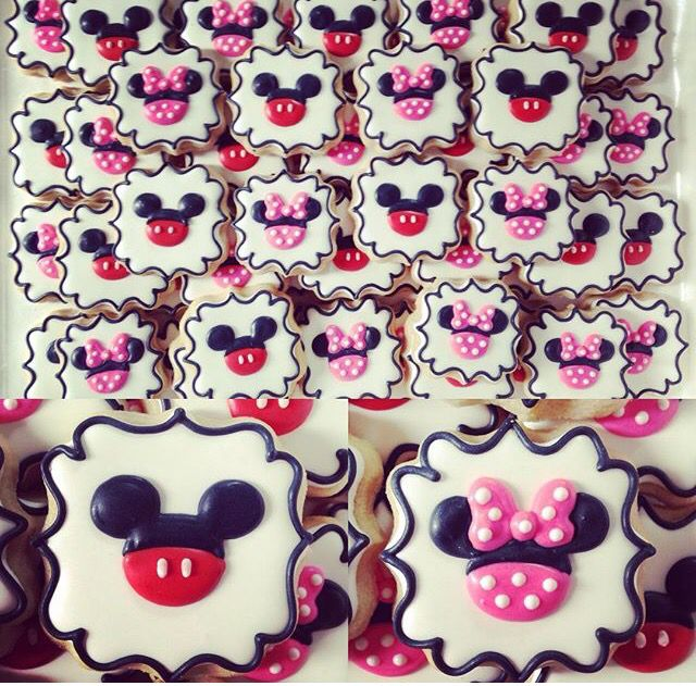 Mickey and minnie, for a baby shower?