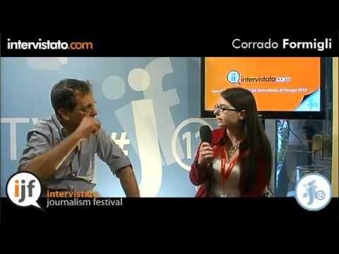 Intervista con Corrado Formigli, conduttore di Piazza Pulita su La7.