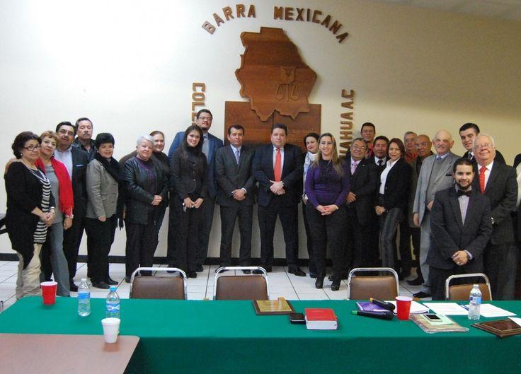 Firmarán Barra Mexicana Colegio de Abogados de Chihuahua colaboración con CEDH y con la red de discapacidad | El Puntero