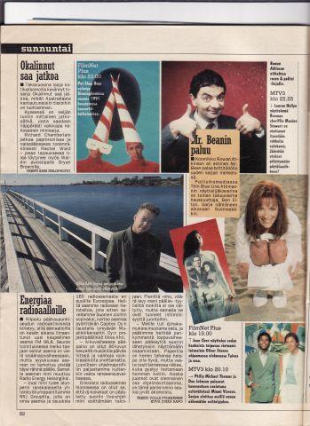 Starting Radio NRJ in Finland...year -95