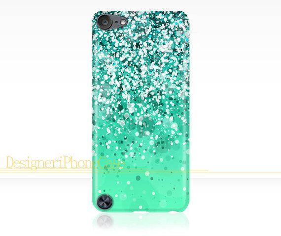 Glitter Sparkle iPod Touch 5 case Glitter by DesigneriPhoneCase