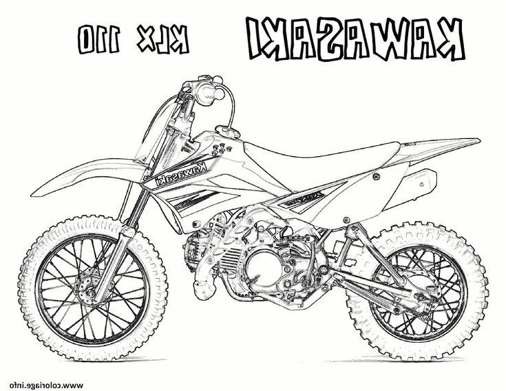 12 Merveilleux Coloriage Casque Moto Cross Image ...