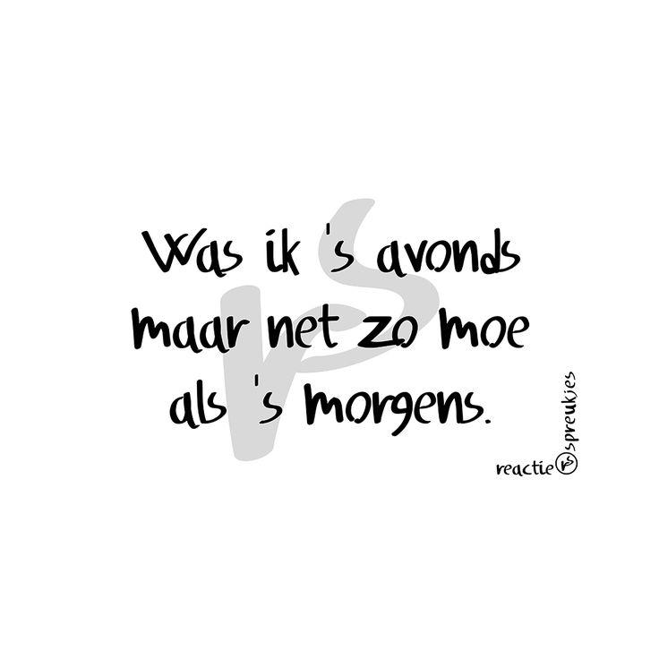 Moe #reactie #spreukjes