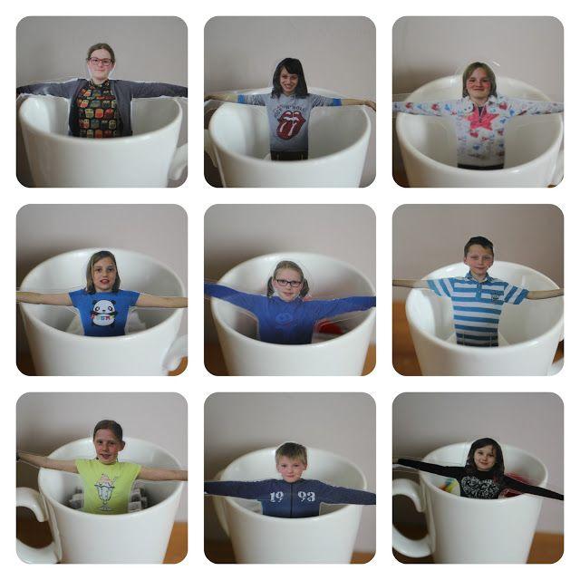 Vijfde leerjaar Sint-Michielsschool Waarloos: Gepersonaliseerde theezakjes voor moederdag