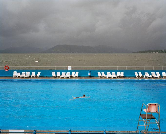Martin Parr, Gourock Lido, Scotland, 2004.
